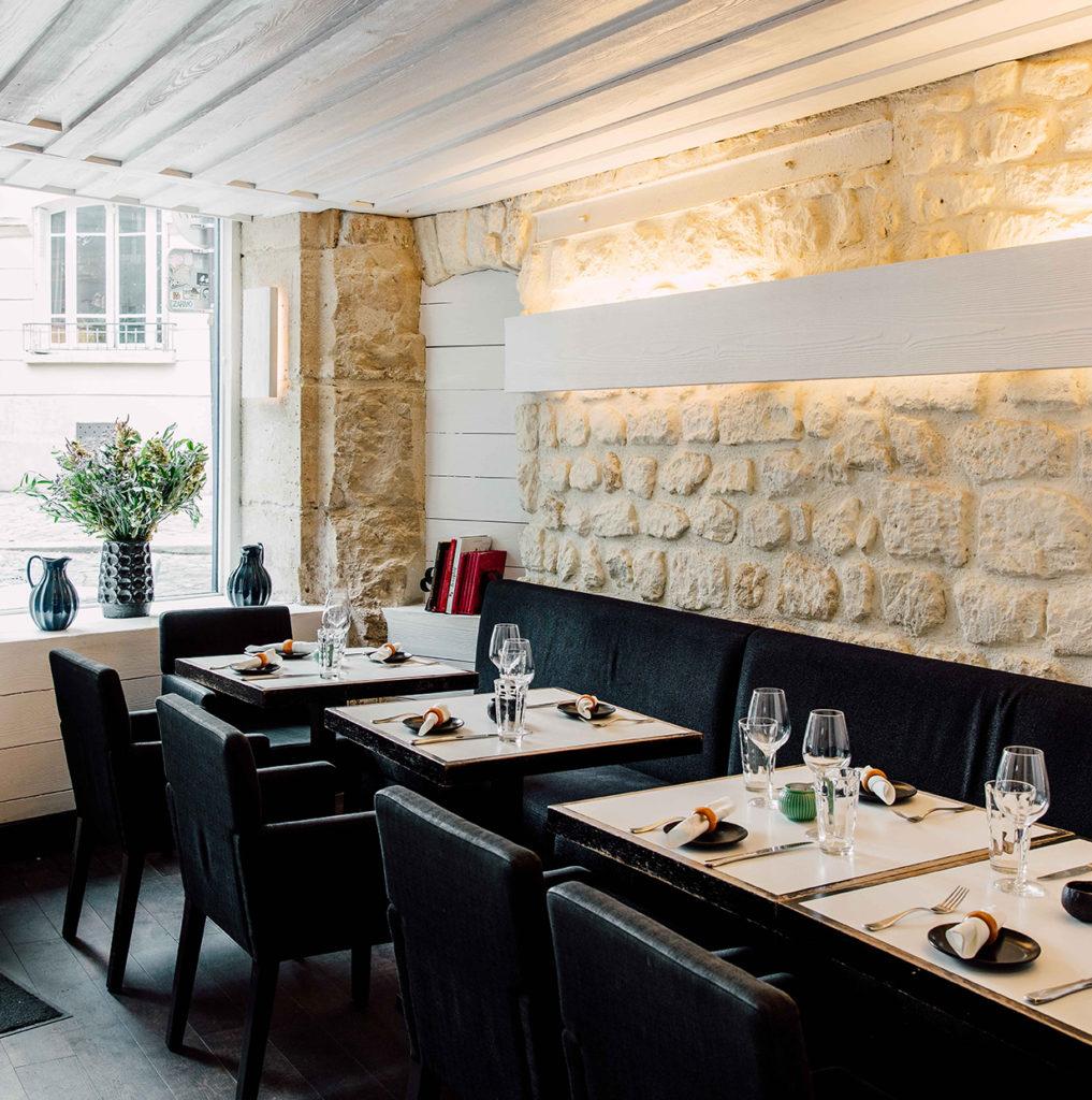 Photo salle réservations restaurant le coq & fils